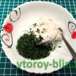 Рулет из шпината с семгой и творожным сыром