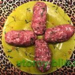 Котлеты с сыром моцарелла внутри рецепт
