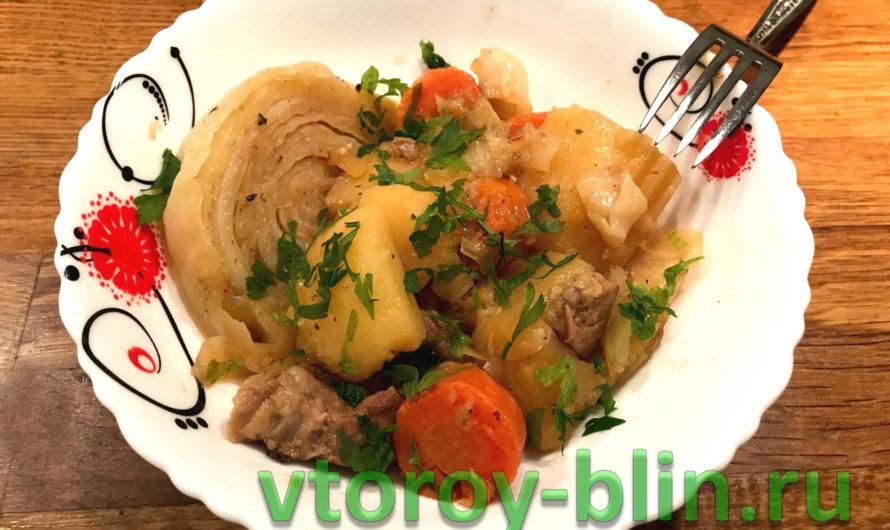 Рагу из свиной шейки в мультиварке: рецепт с фото