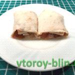 Итальянские быстрые пирожки-конвертики из лаваша