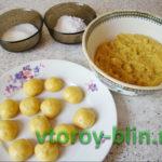 Апельсиновое печенье в духовке