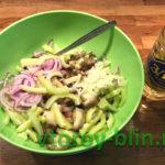 Салат из баклажанов, маринованный в лимонном соке