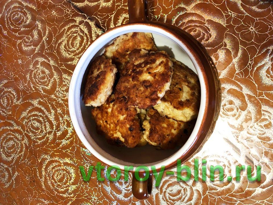 Рецепт сочных куриных котлет